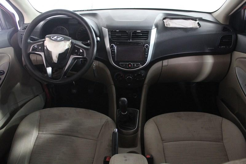 2015 HYUNDAI ACCENT BLUE 1.6 CRDI MODE PLUS
