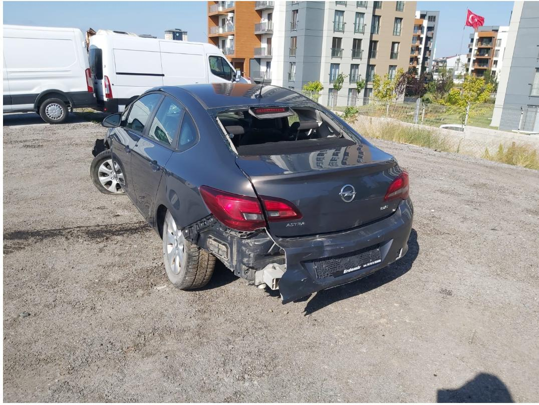 2016 OPEL ASTRA NB 1.6 DIZEL 136 AT DESIGN