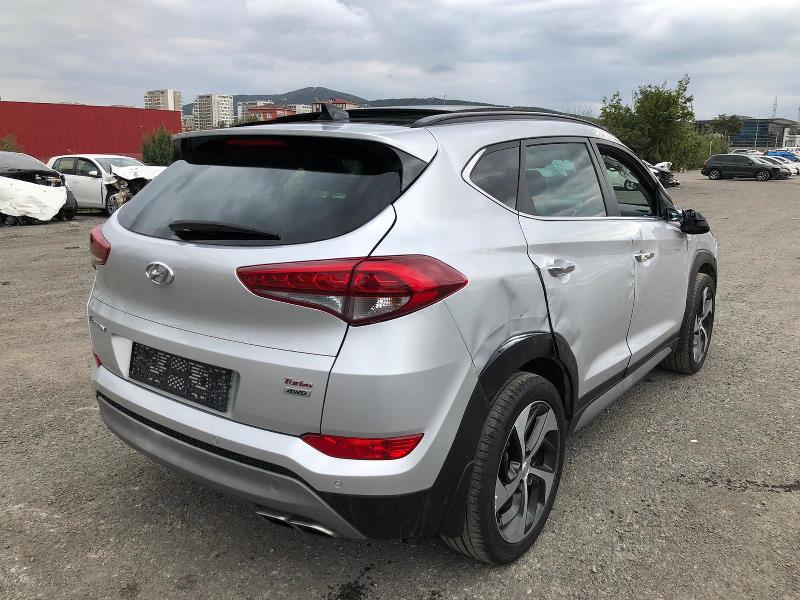 2017 HYUNDAI TUCSON 1.6 T-GDI ELITE PLUS DCT 4x4 RED PACK