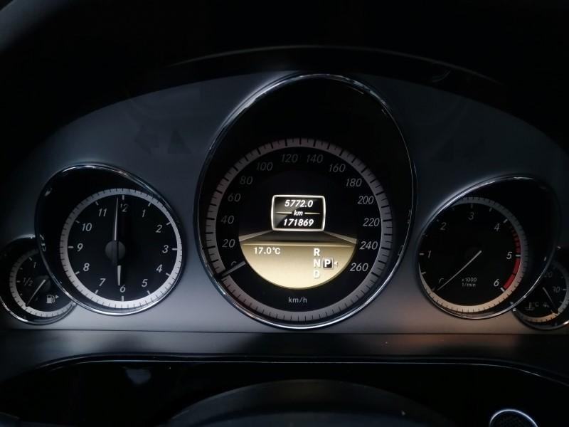 2012 MERCEDES E 250 CDI PREMIUM